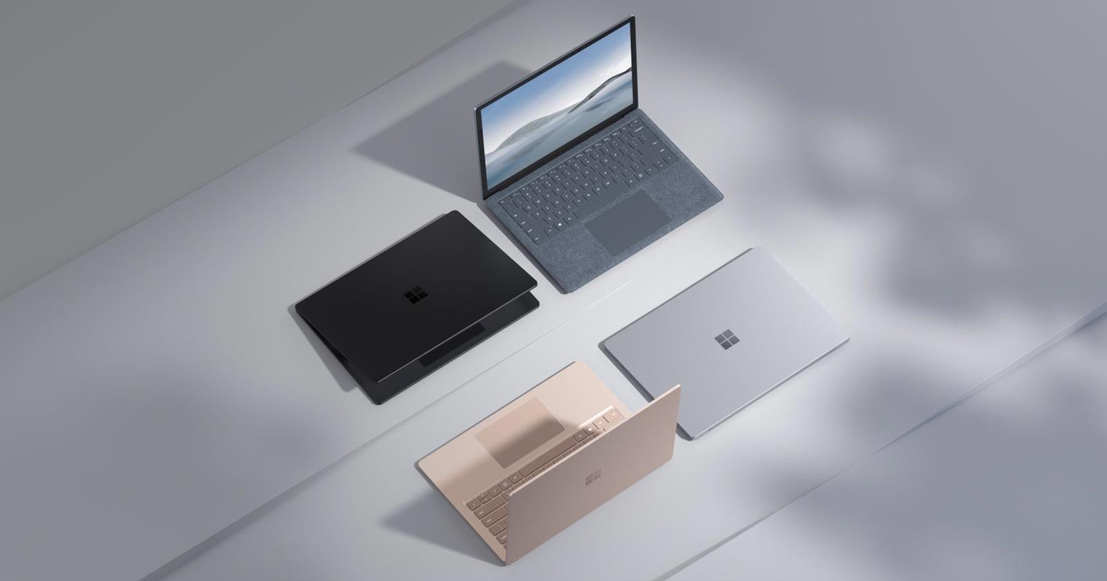 Surface Laptop 4 di Microsoft promette un fotoritocco più veloce del 70%
