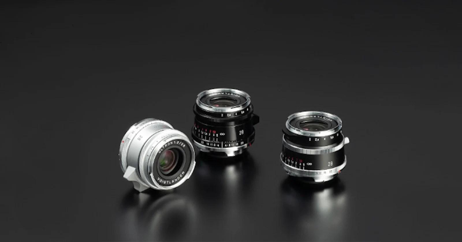 Voigtlander presenta l'obiettivo Ultron Vintage Line 28mm f / 2 per attacco Leica M.