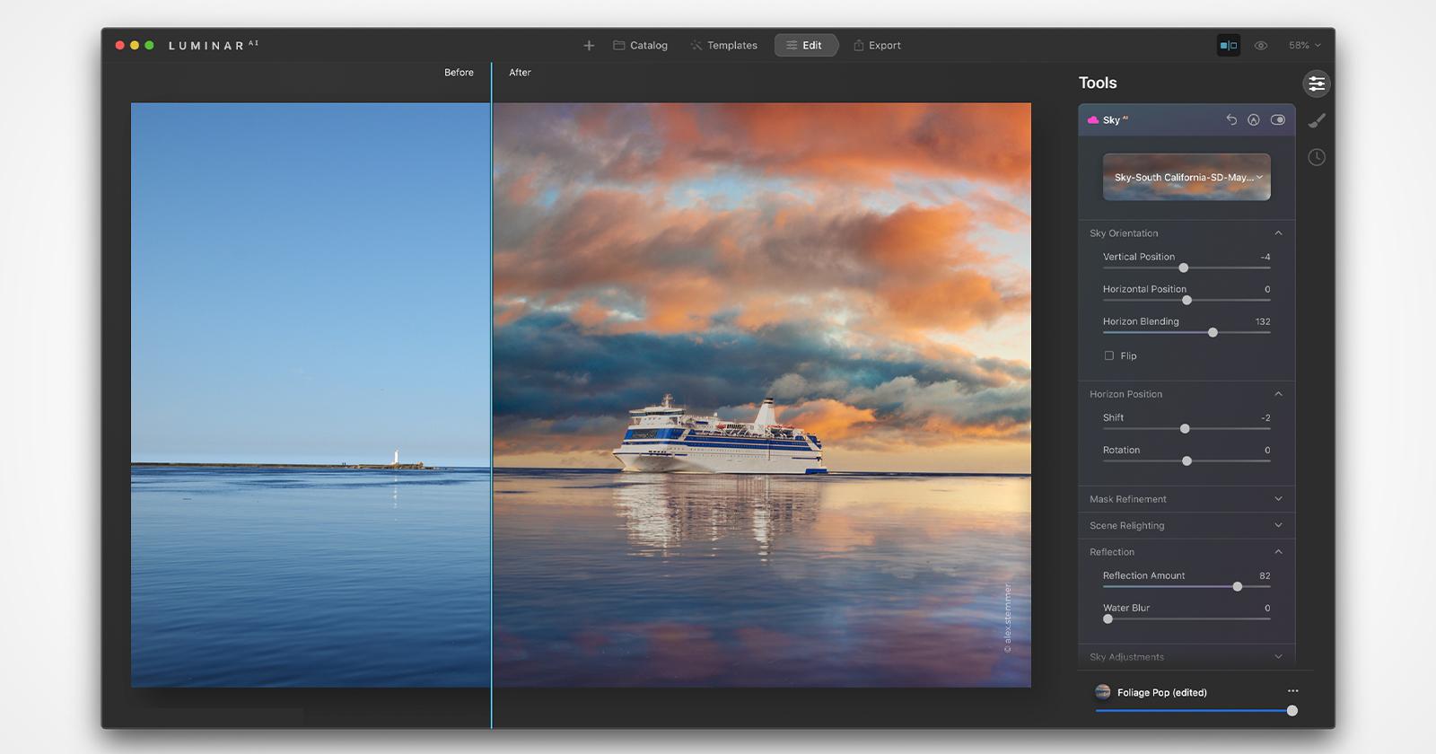 LuminarAI aggiunge il supporto per i dispositivi Apple M1, le immagini HEIC e altro ancora