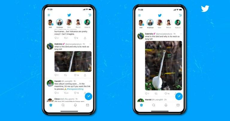 Rallegrarsi!  Twitter finalmente distribuisce le immagini a grandezza naturale nei feed mobili