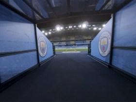 Incredibile tour con drone FPV a colpo singolo dell'Etihad Stadium del Manchester City