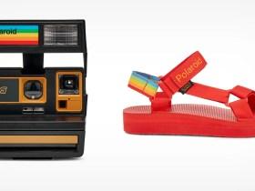 La fotocamera Teva x Polaroid 600 è costruita con parti ricondizionate