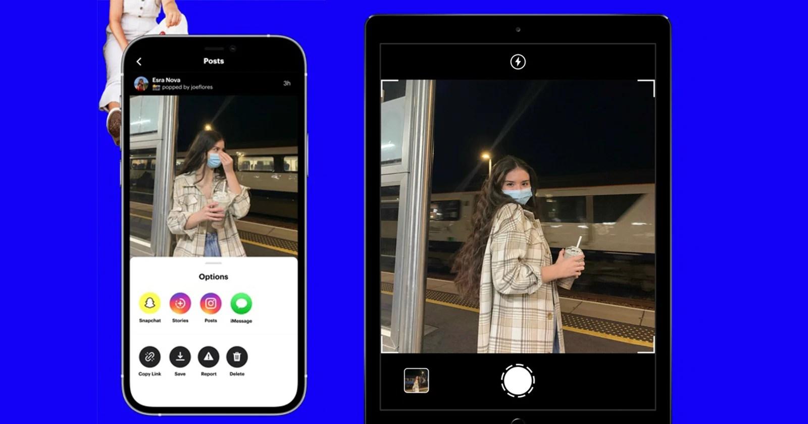 App che vieta i selfie, consente solo foto di altri palloncini in popolarità