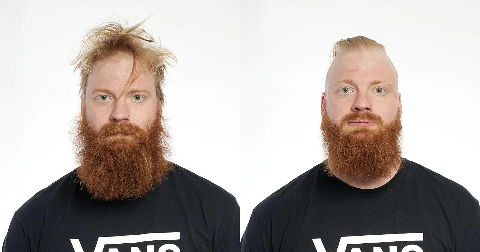 Ritratti di tagli di capelli post-lockdown    PetaPixel