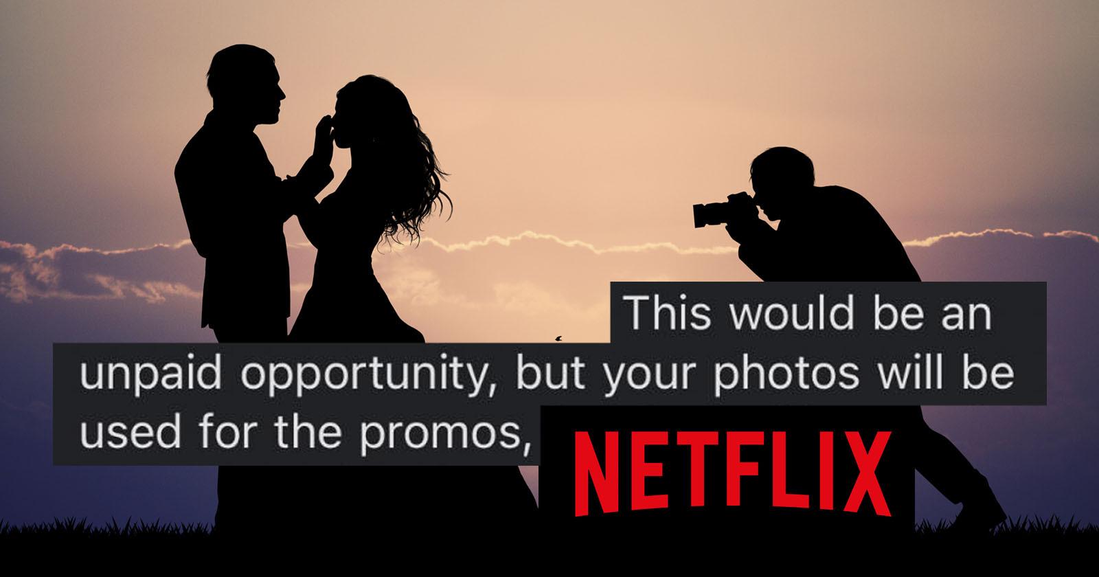 """""""Love is Blind"""" di Netflix vuole un fotografo non pagato per cinque matrimoni"""