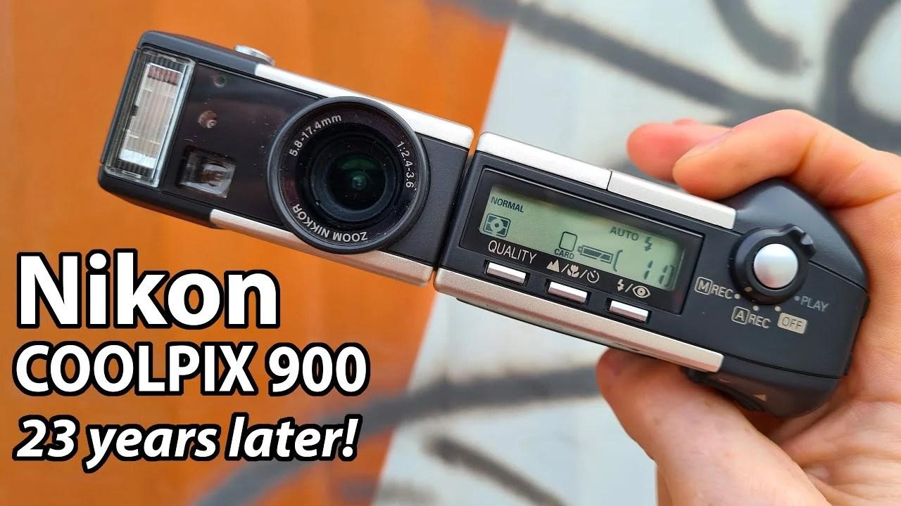 23 anni dopo: recensione della classica Nikon Coolpix 900 del 1998