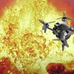 Guarda in prima persona come un drone DJI viene inghiottito da un vulcano