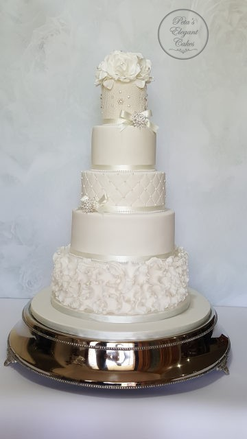 Wedding Cakes In Brisbane Custom Made Amp Freshly Baked