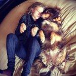 Amanda Seyfried e seu pastor australiano