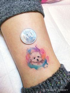 tatuagens de shihtzu ideias