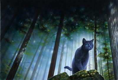 Gato Azul Russo Bluestar