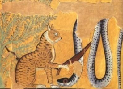 Mau Egípcio Desenho Egito