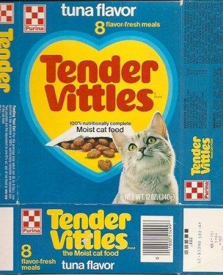 Tender Vittles Semi Moist Cat Food