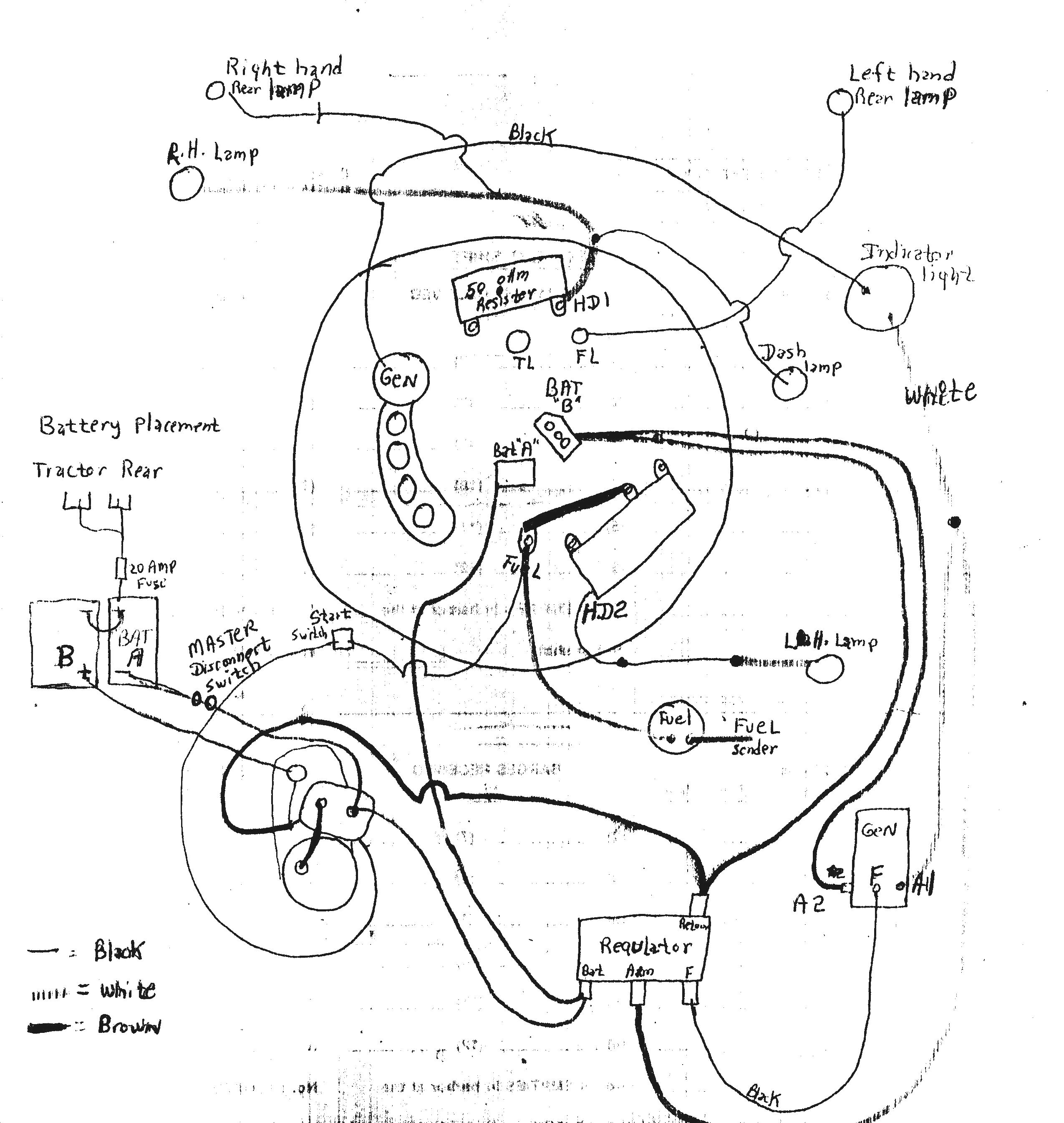 John Deere 1070 Alternator Wiring Diagram