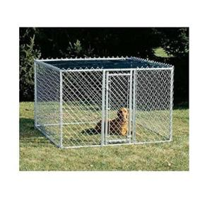 Midwest-K9-Steel-Chain-Link-Portable-Yard-Kennel