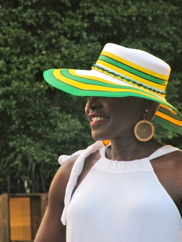 Oh, Jamaicans love cool hats, too.