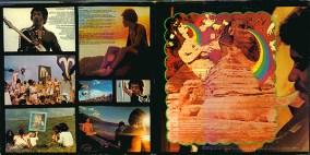 "The inside cover of Jimi Hendrix' ""Rainbow Bridge."""