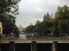 บรรยากาศริมแม่น้ำ Isar
