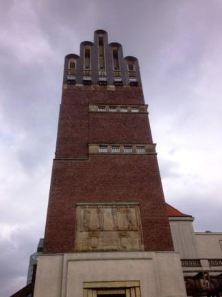 หอคอย Hochzeitsturm หอคอยสูงใหญ่ สไตล์ Art nouveau