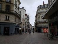 ถนนหนทางในใจกลางเมือง Nantes