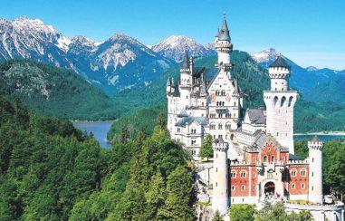 Castelo Neuschwanstein, próximo a Munique, Alemanha