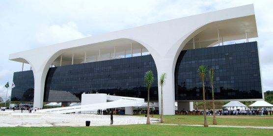 Palácio Tiradentes, a sede do governo