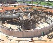 Construção do Museu Nacional de Brasília