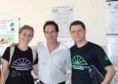 Tutores Michèle Farage, Marconi Moraes e Flávio Barbosa