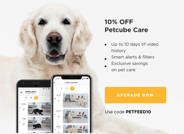 10% OFF Petcube Care
