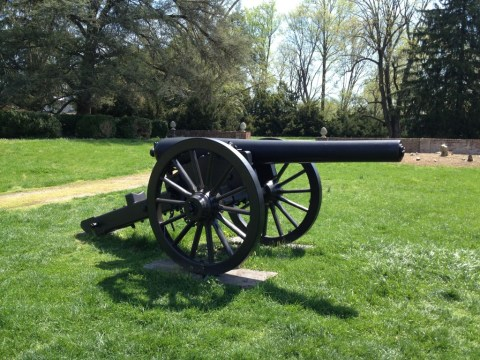 A 4.5-inch, 3300lb., Union Siege Rifle. Awesome.