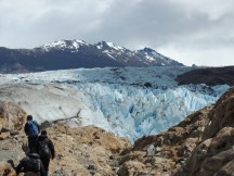 Nearing the ice