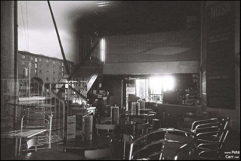 Cafe at Albert Dock