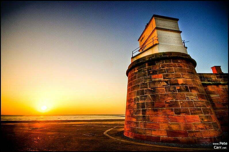 Sunset at New Brighton