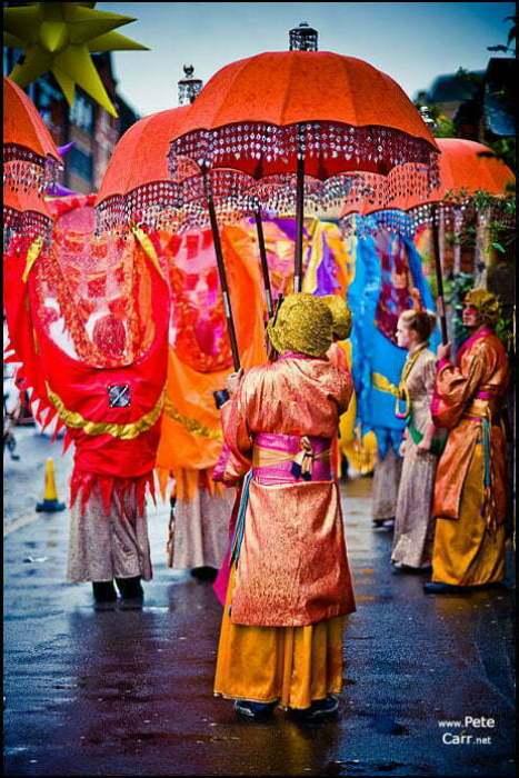 Fancy umbrellas