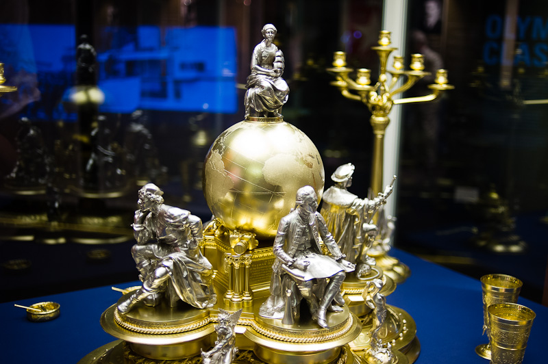 Thomas Henry Ismay's silver centrepiece