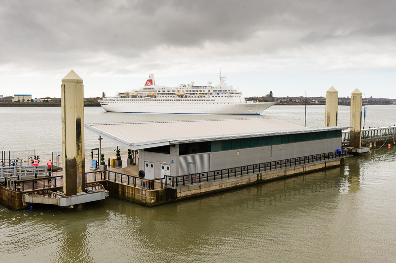Fred Olsen Cruise Liner Boudicca in Liverpool