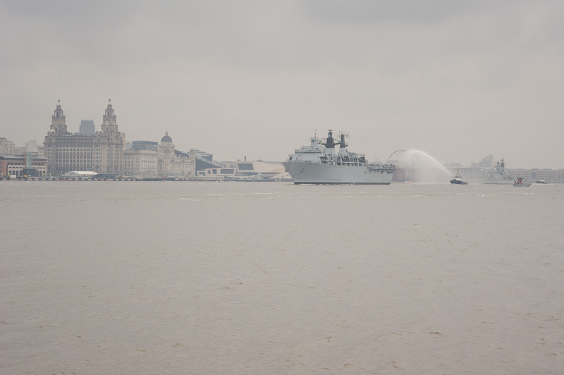 Battle of the Atlantic 70th Anniversary fleet leaves Liverpool
