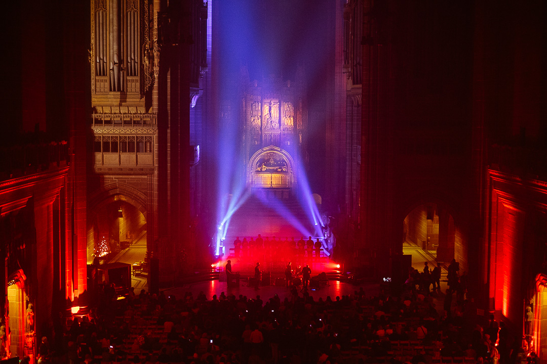 Light Night Liverpool 2014 - Psyksong at Anglican Cathedral