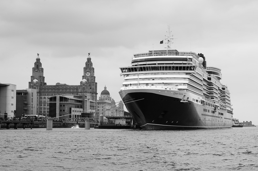 Queen Victoria in Liverpool