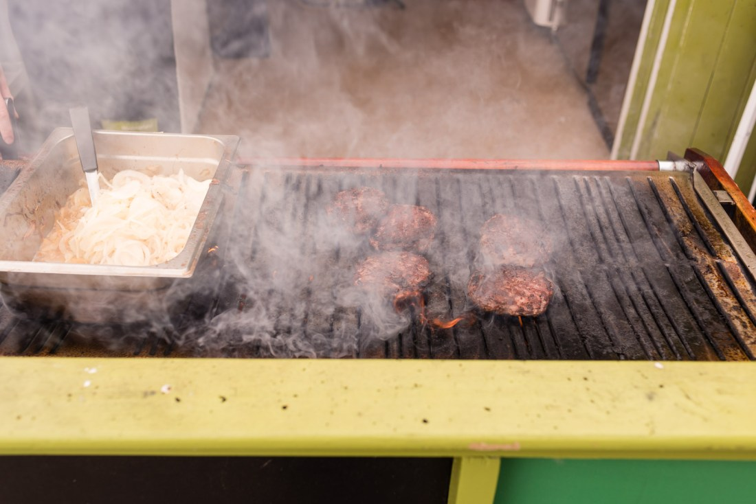 Lunch time BBQ
