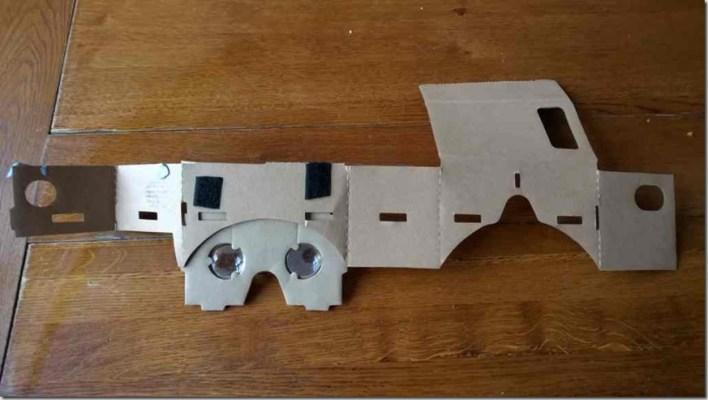 cardboard unfolded