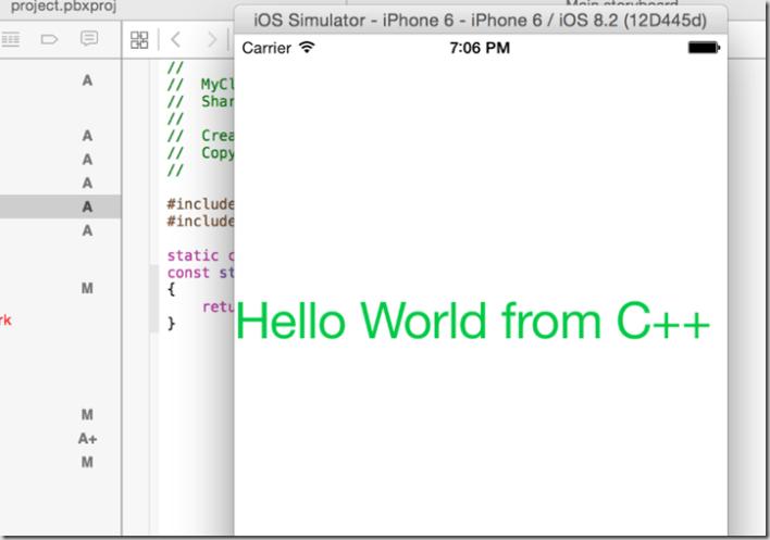 xcode-runcpp
