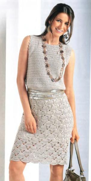 Летнее платье связанное крючком — петелики