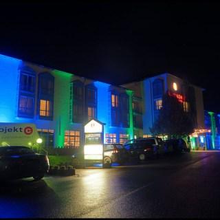 Ramada Hotel Aalen illuminiert