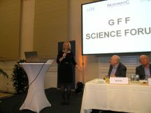 Bundesministerin Doris Bures beim Science Forum
