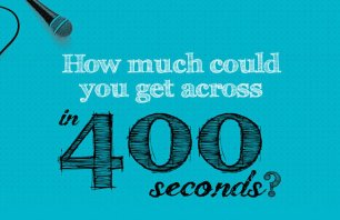 Pecha Kucha: How much could you get across in 400 seconds?