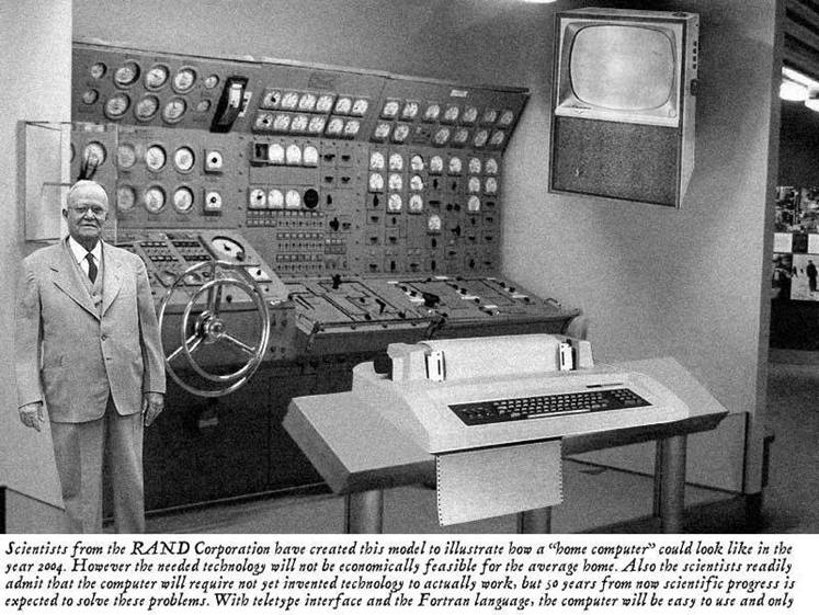 Image result for computers from 1950s