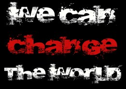 Are you changing the world?