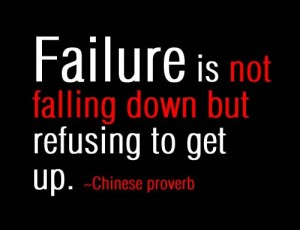 failure proverb