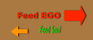 Choice feed ego or soul